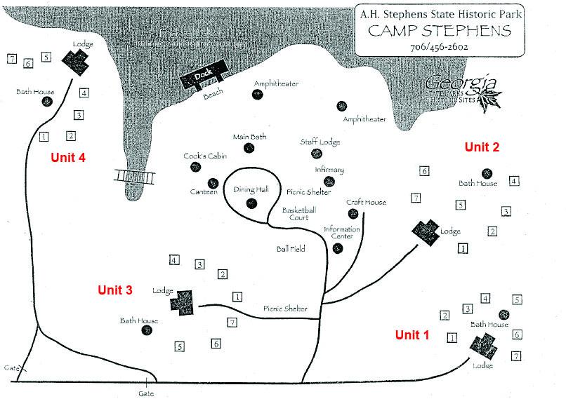 Map of AH Stephens
